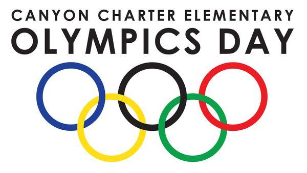 Canyon Charter Elementary Olympics Day Logo
